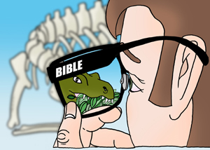 Glasses and bible