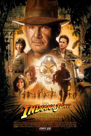 Indiana Jones and the Kingdom of the Crystal Skull, movie poster