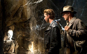 Indiana Jones and the Kingdom of the Crystal Skull, scene from movie