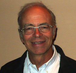 Dr Peter Singer, an Australian-born philosopher who is Professor of Bioethics at Princeton University.  Singer's writings consistently elevate the rights of animals above disabled or unborn human beings, including the advocacy of infanticide.  He has openly indicated that the 'old' ethical order his teachings are intended to supplant is one based on the Genesis teaching of mankind made in the image of God. Which of course he regards as untenable due to his evolutionary belief that all life emerged naturally from chemicals to its present state of order over millions of years.