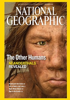 Nation Geographic magazine cover