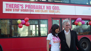 In Britain, the 'Year of Darwin' kicked off with the British Humanist         Association (BHA), supported by prominent atheist Richard Dawkins, launching a £36,000         advertising campaign on UK buses.