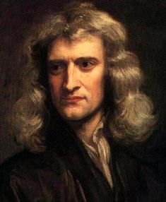 艾萨克·牛顿爵士(1643-1727)
