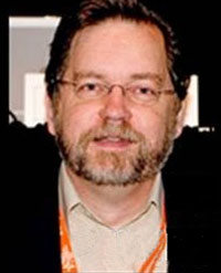 PZ Myers, a biology professor and virulent anti-Christian.  On his popular blog Myers gave an 'in your face' response to CMI-Australia's debate challenge, with an image of Christ seemingly calculated to offend. See scienceblogs.com/pharyngula/2009/12/a_reply_to_carl_wieland.php  (Warning: this link is to a very strongly anti-Christian site; provided for the spiritually mature for an insight into some of what the western church faces in today's world of aggressive evolutionism).
