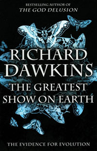 Richard Dawkins' book, The Greatest Show on Earth: The Evidence for Evolution fails to prove the case, using lots of straw-man arguments to hoodwink readers into accepting goo-to-you evolution