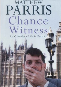 Matthew Parris has written many books.