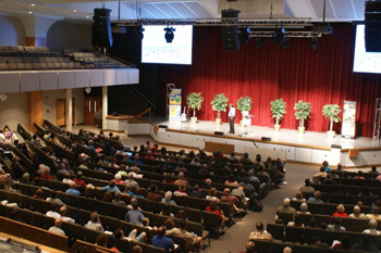 Over 350 people attended the conference at Ridgecrest