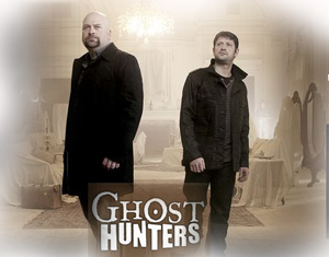 A scene from the popular TV show Ghost Hunters