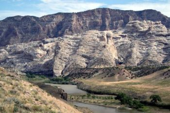 The Morrison Formation at Dinosaur National Monument, Utah.