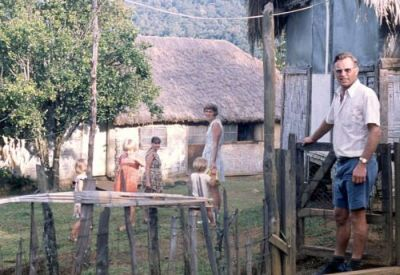 Des and Jenny Oatridge's home among the Binumarien people