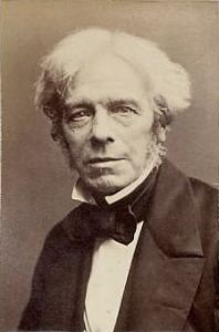 Eminent English scientist and example of humility, Michael Faraday