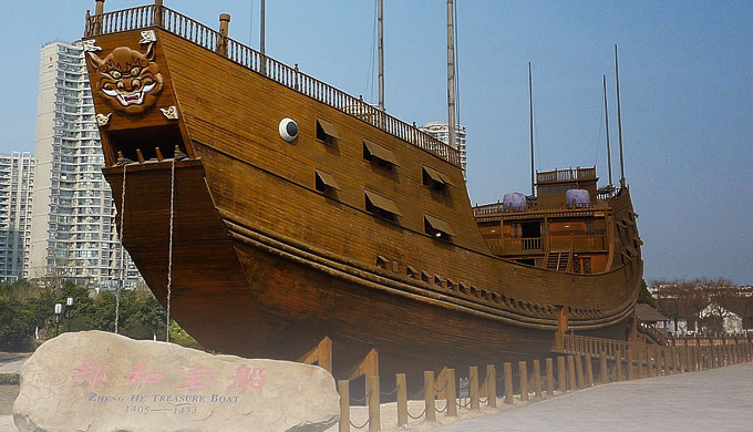Amazing ancient Chinese treasure ships