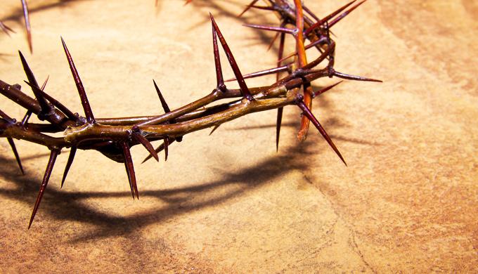 Porque Jesus usou uma Coroa de Espinhos?
