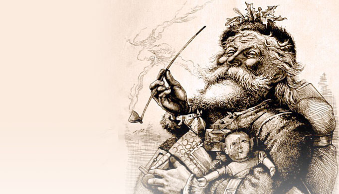 The Santa Claus myth vs the God of the Bible