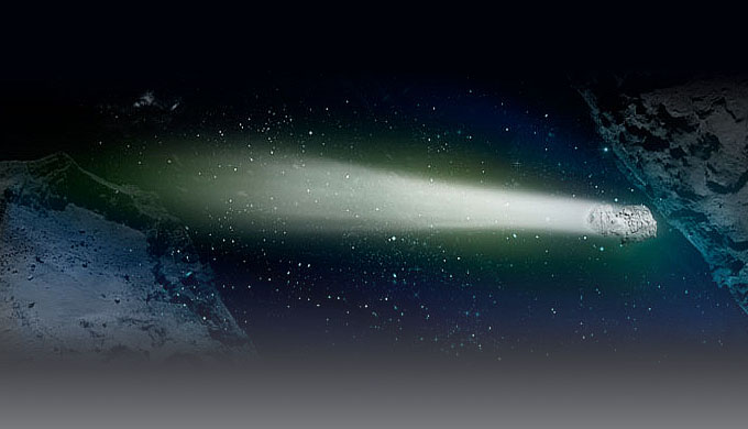 Oxygen in comet atmosphere undermines billions of years