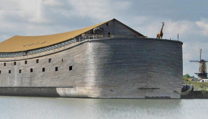 The pitch for Noah's Ark