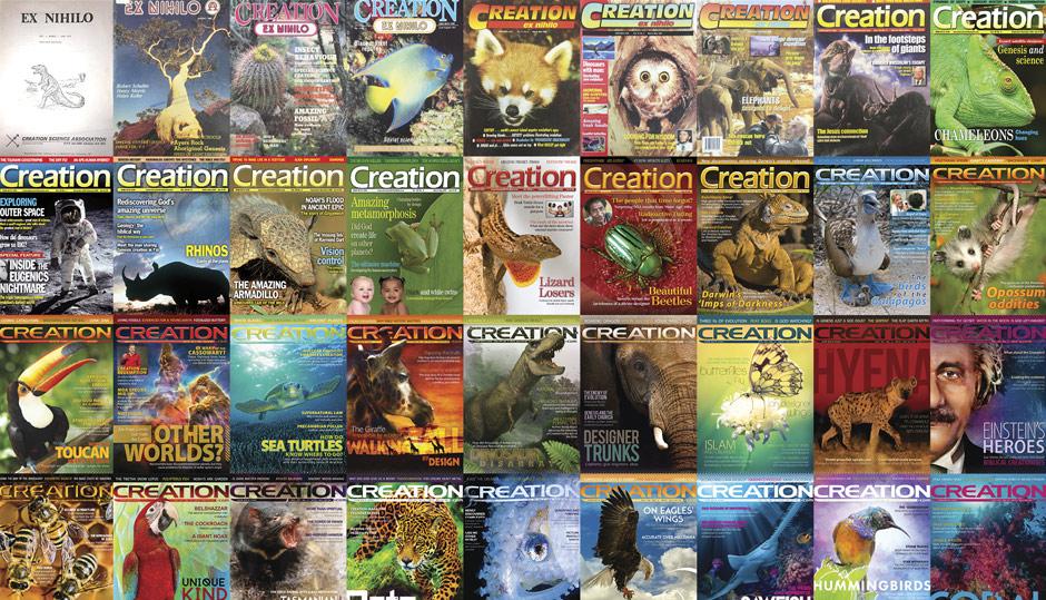 40 years of Creation magazine
