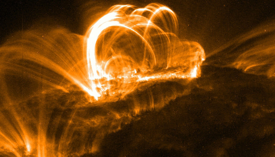 Superflares and the origin of life
