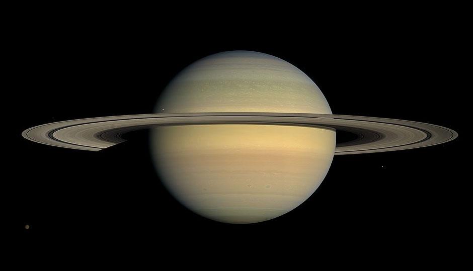 Saturnian 'pristine' problem