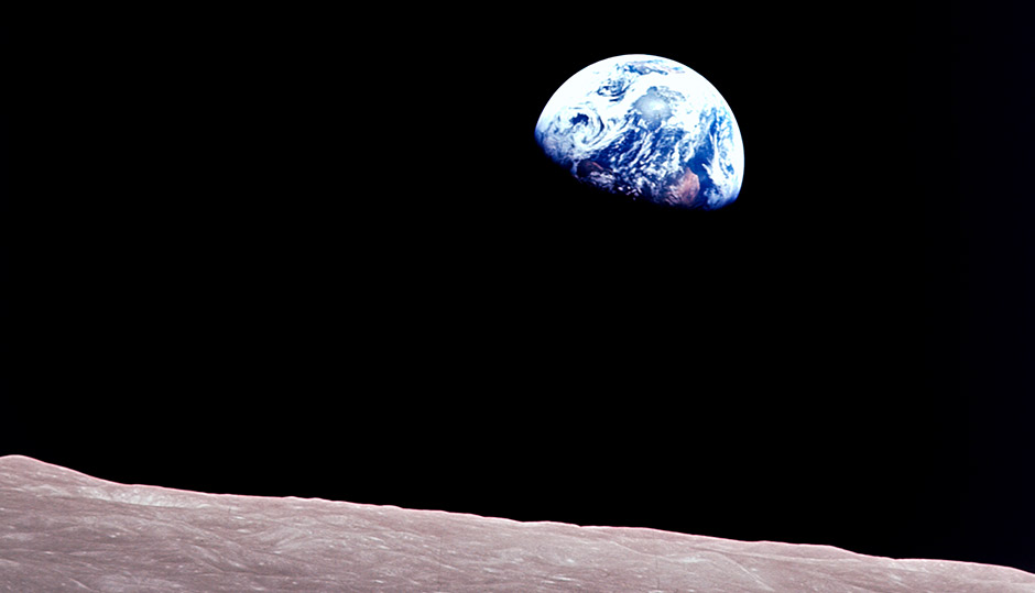 Christmas and Genesis connected by Apollo 8 Astronauts