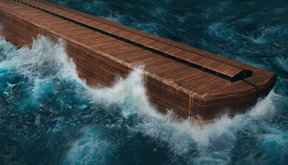 How could Noah's Ark have survived the flood?