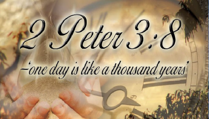 2 Peter 3:8 one day is like a thousand years - creation com