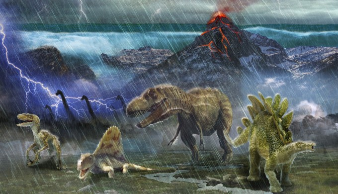 Did a meteor wipe out the dinosaurs?