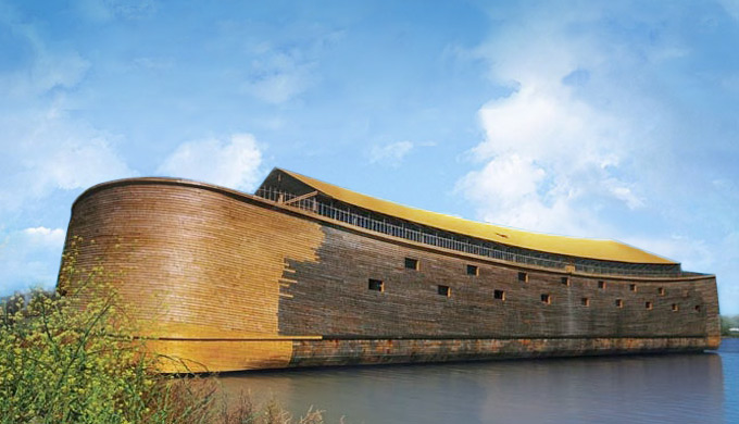 A full size ark and it floats!