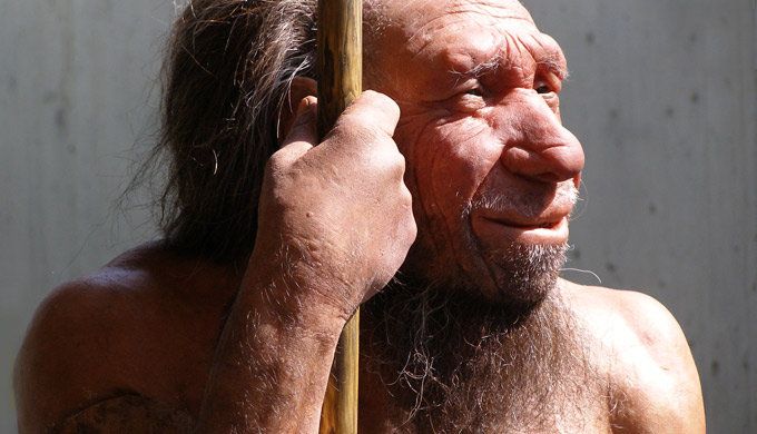 Big-eye brain-less Neandertal nonsense