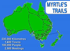 Myrtle's trails