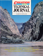 Journal of Creation Volume 5 Issue 2 Cover