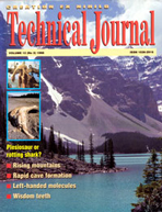 Journal of Creation Volume 12 Issue 3 Cover