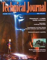 Journal of Creation Volume 14 Issue 3 Cover