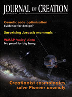 Journal of Creation Volume 21(2) Cover