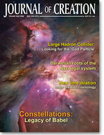 Journal of Creation Volume 22(3) Cover