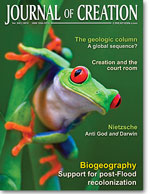 Journal of Creation Volume 24(1) Cover