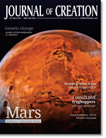 Journal of Creation Volume 28(1) Cover