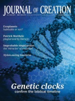 Journal of Creation Volume 29(2) Cover