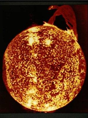 The Sun. As the Sun ages, it increases in brightness and produces more heat. If the Sun is as old as claimed by mainstream scientists, 3.8 billion years ago the Earth would have had an average temperature of -3°C.