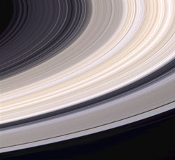 Saturn's rings are short-lived.