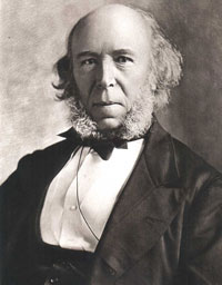 Herbert Spencer has linked the free market to Darwinism in the minds of many people. However, Jonathan Wells argues that there are reasons to view Darwinism as a better fit with government interventionism than with the free market.