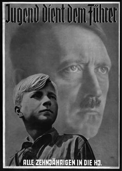 Children from the Hitler Youth had to recite a daily prayer to the Führer