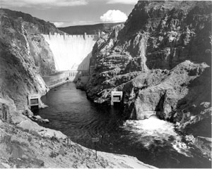The Hoover Dam. Damming the Colorado River has provided drinking water and 'clean' power to literally millions of people in the western United States.