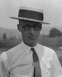 John Scopes became the focus of a large cultural debate in America between evolution and Christianity that continues today.