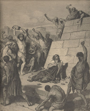 The stoning of Steven