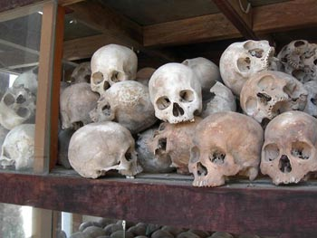 500,000 people died during the Khmer Rouge's reign in the 1970s