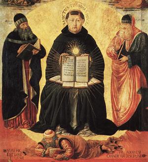 Theologian Thomas Aquinas