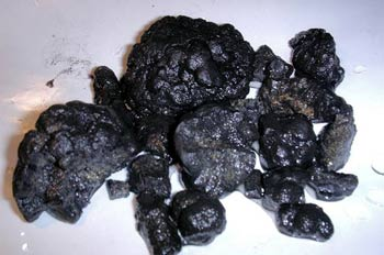 Manganese nodules. Author Marcin Zych; courtesy of www.wikipedia.org