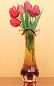 花瓶裡的鮮花