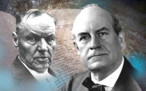 Clarence Darrow und William Jennings Bryan